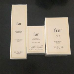 NWT Fur Oil Ingrown Hair set